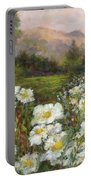 Matilija Poppies Portable Battery Charger