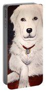 Matisse- Portrait Of A Hungarian Kuvasz Portable Battery Charger