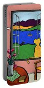 Matisse's Cat Portable Battery Charger