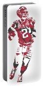 Matt Ryan Atlanta Falcons Pixel Art 6 Portable Battery Charger