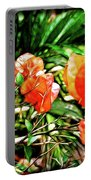 Maui Floral Portable Battery Charger