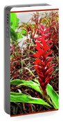 Maui Tropical Floral Portable Battery Charger