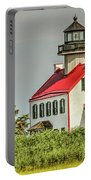 Maurice River, New Jersey, East Pointe  Lighthouse Portable Battery Charger