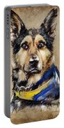 Max The Military Dog Portable Battery Charger