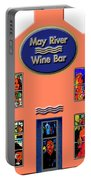 May River Wine Bar Portable Battery Charger