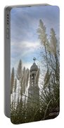 Mayflower Memorial Through The Pampas Grass Portable Battery Charger