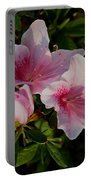 Maymont Flowers Portable Battery Charger