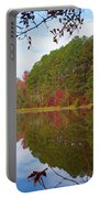 Mayor's Pond, Autumn, #7 Portable Battery Charger