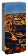 Maze Overlook Portable Battery Charger by Greg Norrell