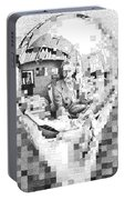 Mc Escher In His Own Words Portable Battery Charger