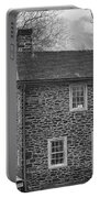 Mcconkey Ferry Inn Black And White Portable Battery Charger