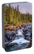 Mcdonald Creek Falls Portable Battery Charger