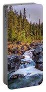 Mcdonald Creek Falls Portable Battery Charger