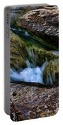 Mckinney Falls State Park-lower Falls 4 Portable Battery Charger