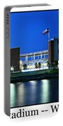 Mclane Stadium Print Portable Battery Charger