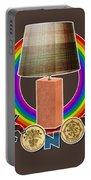 Mconomy Rainbow Brick Lamp Portable Battery Charger