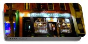 Mcsorleys At Night Portable Battery Charger