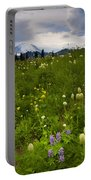 Meadow Beneath The Storm Portable Battery Charger