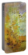 Meadow Flowers Abstract Portable Battery Charger
