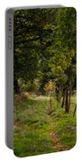 Meadow Grass Path Portable Battery Charger