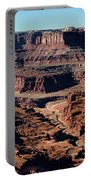 Meander Overlook - Dead Horse Point - Panorama Portable Battery Charger