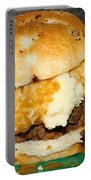 Meatloaf And Mashed Potato Sandwich Portable Battery Charger