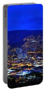 Medellin Colombia At Night Portable Battery Charger