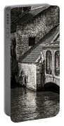Medieval Architecture Of Bruges Portable Battery Charger