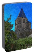 Medieval Bell Tower 1 Portable Battery Charger