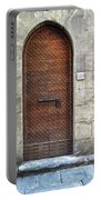 Medieval Florence Door Portable Battery Charger
