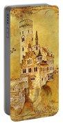 Medieval Golden Castle Portable Battery Charger