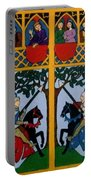 Medieval Scene Portable Battery Charger