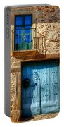 Medieval Spanish Gate And Balcony Portable Battery Charger