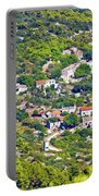 Mediterranean Village On Island Of Vis Portable Battery Charger