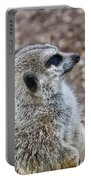 Meerkat Portrait Portable Battery Charger