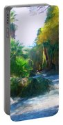 Meeting Place Portable Battery Charger by Snake Jagger