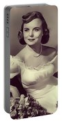 Meg Randall, Vintage Actress Portable Battery Charger
