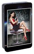 Megan Fox Portable Battery Charger