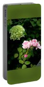Melody Of Flowers Portable Battery Charger