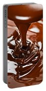 Melted Chocolate And Spoon Portable Battery Charger