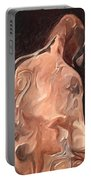 Melted Wax Model Portable Battery Charger
