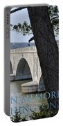 Memorial Bridge Portable Battery Charger