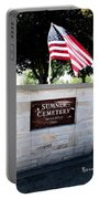 Memorial Day 2017 - Sumner W A Cemetery Portable Battery Charger