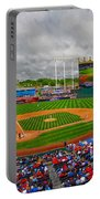 Memorial Day At Kauffman Stadium Portable Battery Charger