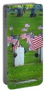 Memorial Day Salute Portable Battery Charger