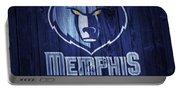 Memphis Grizzlies Barn Door Portable Battery Charger