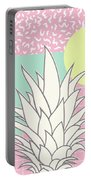 Memphis Pineapple Top Portable Battery Charger