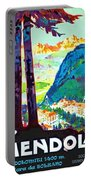 Mendola, Italy, Landscape Portable Battery Charger