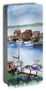 Menemsha Safe Haven Portable Battery Charger by John Crowther