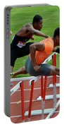 Mens Hurdles Portable Battery Charger
